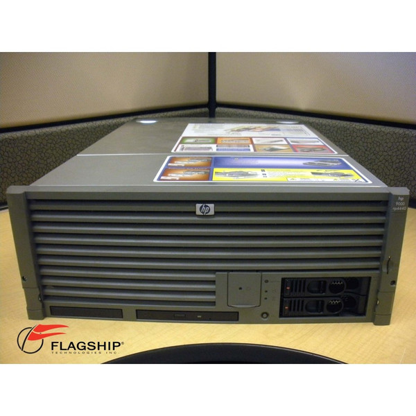 HP A7124B rp4440 Server Base with 1x 800MHz DC PA8800 CPU No Memory, No Rack Kit