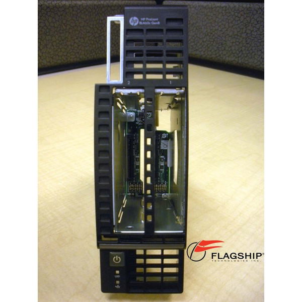 HP 670025-001 Front Panel Hard Drive Cage w/ Bezel for BL460c Gen8