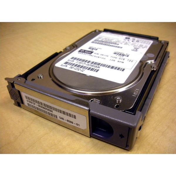 Sun 540-6599 X5264A 73GB 10K SCSI Hard Drive w/ Spud Bracket via Flagship Tech