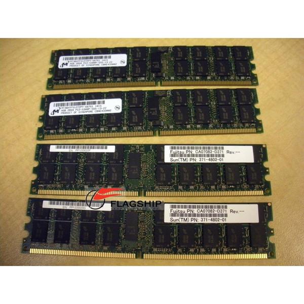Sun SEWX2C2Z 16GB (4x 4GB) Memory Kit for M3000 (371-4802)