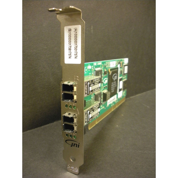 Sun 375-3157 JNI 2Gb PCI Dual FC Host Adapter via Flagship Tech