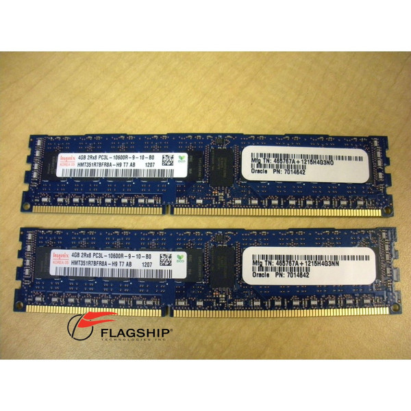 Sun 7101696 8GB (2x 4GB) Memory Kit (7014642) for T4