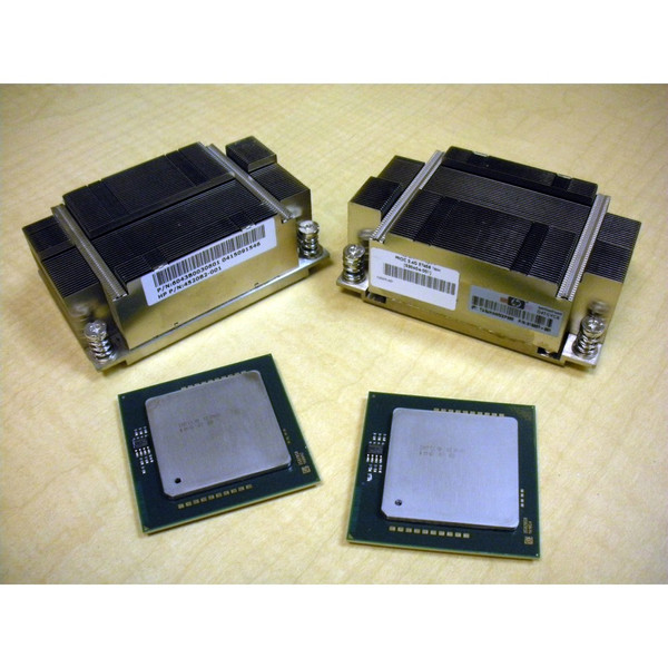 HP 517411-L21 517411-B21 E7458 6-Core 2.4GHz/16MB 2-Processor Kit for BL680c G5 via Flagship Tech