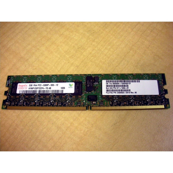 Sun 511-1284 SEMX2B2Z-N 2GB (1x 2GB) DDR2-667 1-Rank DIMM for M8000 M9000 via Flagship Tech