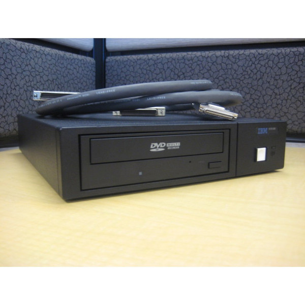 IBM 7210 Model 030 DVD External Drive front angle