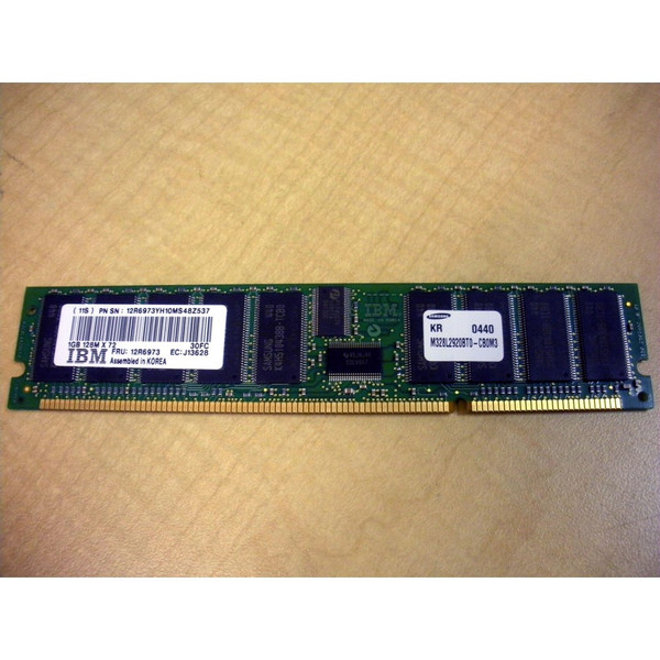 IBM 12R6973 (CCIN 30FC) 1GB (1x 1GB) Memory DIMM via Flagship Tech