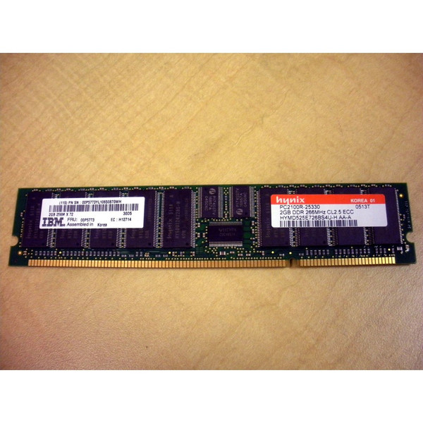 IBM 00P5773 2GB (1x 2GB) Memory DIMM via Flagship Tech