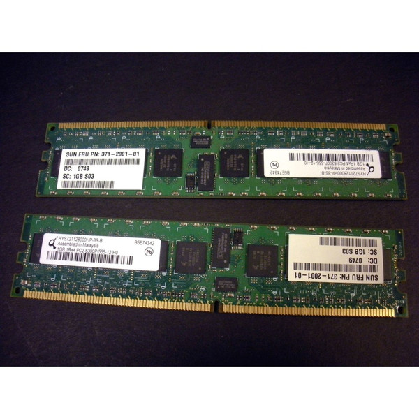 Sun X5287A-Z 540-7061 2GB (2x 1GB) Memory Kit 371-2001 for X2200 via Flagship Tech