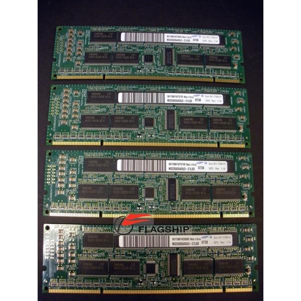 Sun X7056A-Z 4GB (4x 1GB) Memory Kit (501-7386)