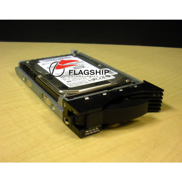 IBM 06P5759 36.4GB 10K U160 80-Pin SCSI Hard Drive via Flagship Tech