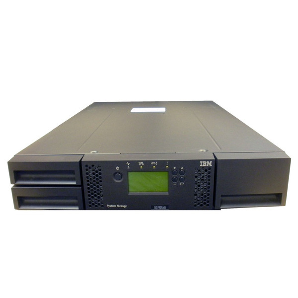 IBM 3573-L2U TS3100 Tape Library 24 Slot w/ 8144 LTO-4 FH FC Tape Drive via Flagship Tech