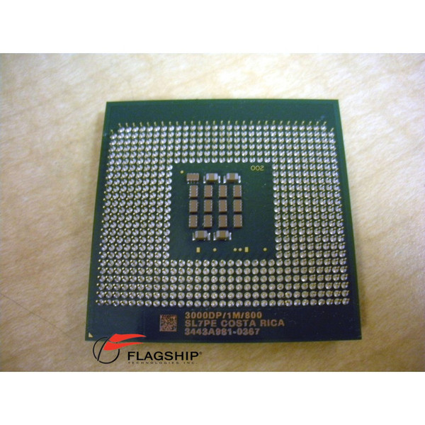 3.0GHz 1MB 800MHz Intel Xeon Processor SL7PE D7590