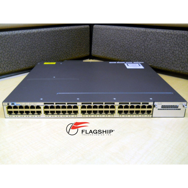 CISCO WS-C3750X-48PF-L 3750X 48 10/100/1000 ETHERNET PoE+ 1100W LAN