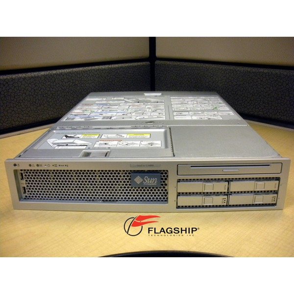 Sun T20Z108B-08GA2G T2000 8-Core 1.2GHz, 8GB, 2x 73GB, DVD, Rack Kit