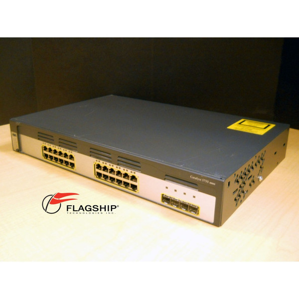 Cisco WS-C3750G-24TS-E 24-Port Enhanced Gigabit 3750 Switch