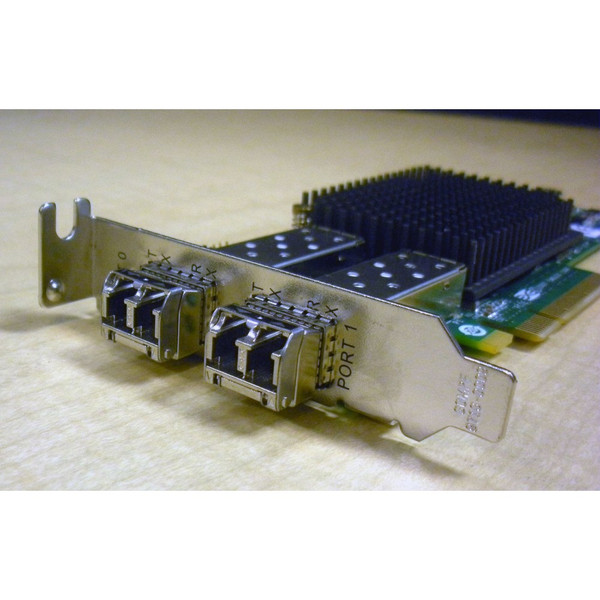 Sun 371-4306 8Gigabit Sec PCI E Dual FC Host Adapter via Flagship Tech