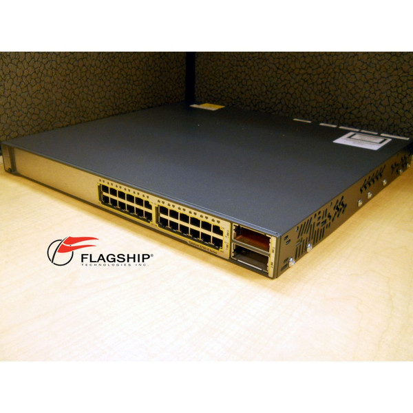 Cisco WS-C3750E-24TD-S 24-Port +2 X2 10GE Uplinks