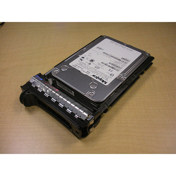 146GB 10K U320 SCSI 80Pin Hard Drive & Tray N4715 Maxtor Atlas for Dell PowerEdge