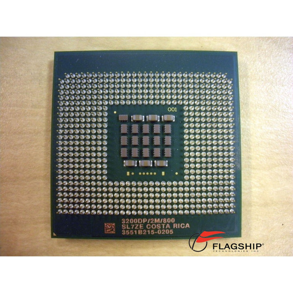 3.2GHz 2MB 800MHz Intel Xeon Processor SL7ZE C8509 GF186 K9470