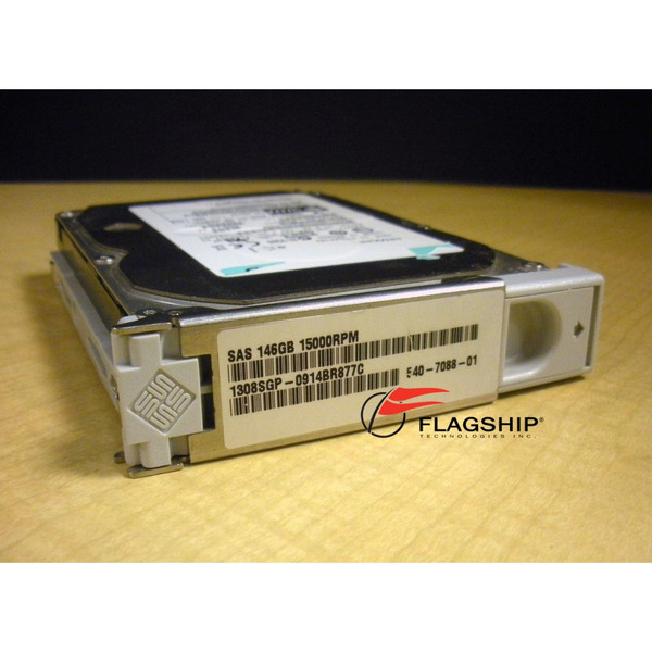 Hitachi 0B22187 146GB 15K SAS Hard Drive Sun 390-0371 IT Hardware via Flagship Technologies, Inc - Flagship Tech