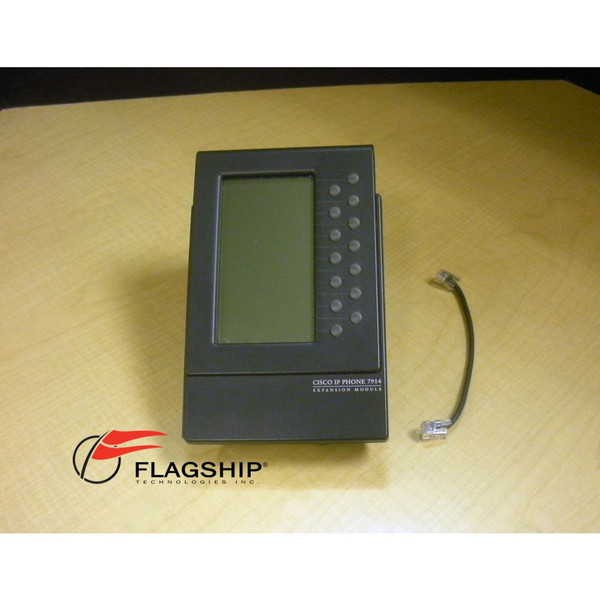 Cisco CP-7914 Unified IP Phone Expansion Module 7914 IT Hardware via Flagship Technologies, Inc, Flagship Tech, Flagship