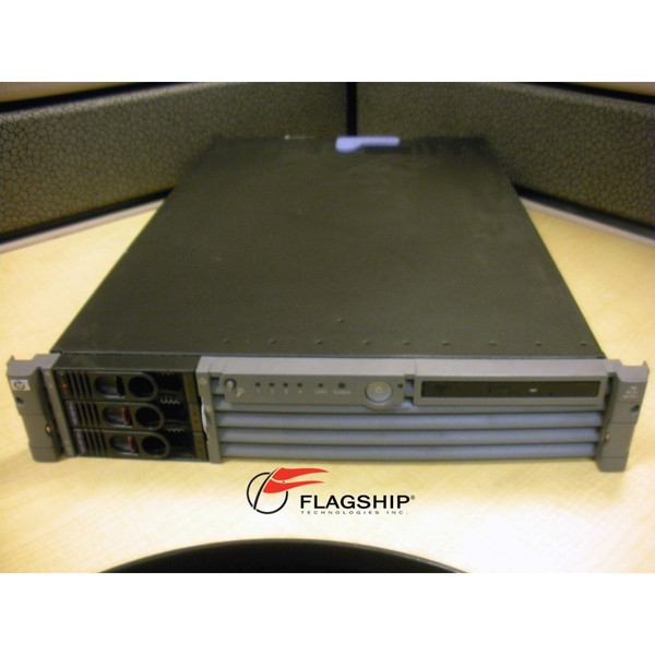 HP A7137A rp3440 4-Way 1.0GHz PA8900 24GB 2x 73GB RPS DVD Rack Kit