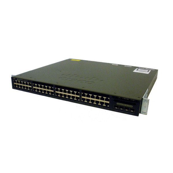 Cisco WS-C3650-48TQ-L Catalyst 3650 Series 48-Port Gigabit LAN Base Switch w/ 4x10G Uplink via Flagship Tech