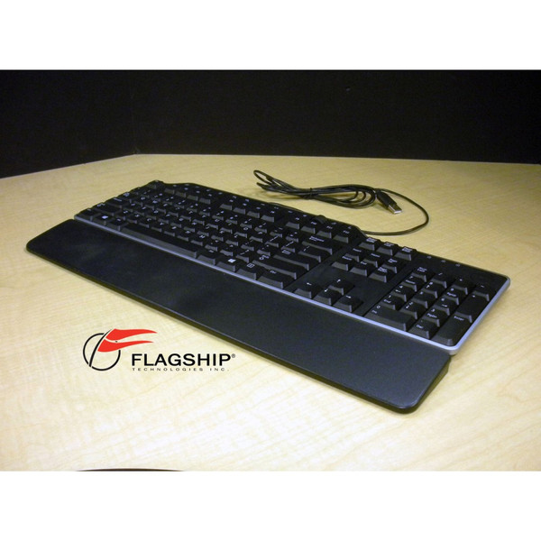 Dell 7KKPH USB Keyboard Black IT Hardware via Flagship Tech