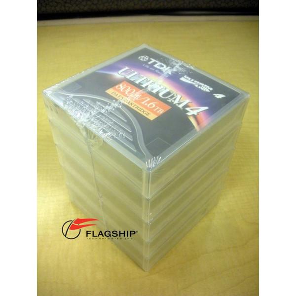 *New 5-Pack DTK D2407-LTO4 Ultrium 4 Data Cartridge 800GB/1.6TB 20356 48989