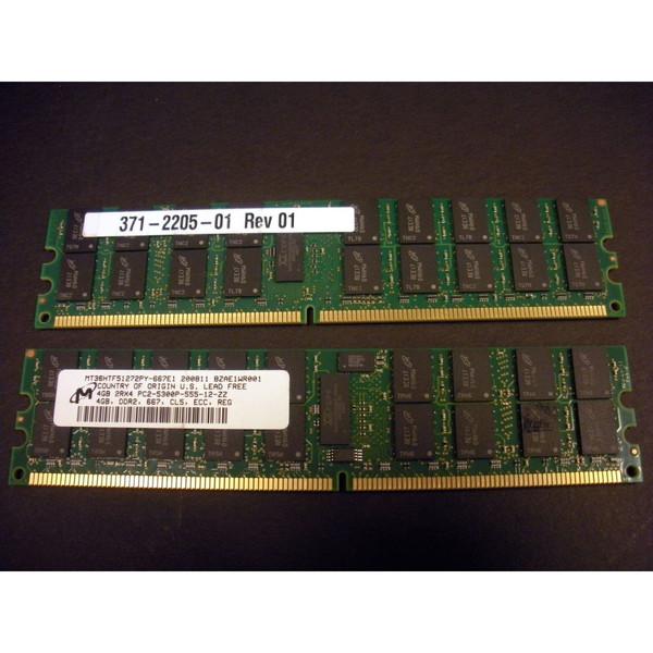 Sun X4227A-Z 8GB (2x 4GB) Memory Kit (371-2205) for X4100 M2 X4200 M2 via Flagship Tech