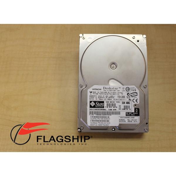 Sun 390-0214 400GB 72 RPM SATA 3.5in Hard Drive