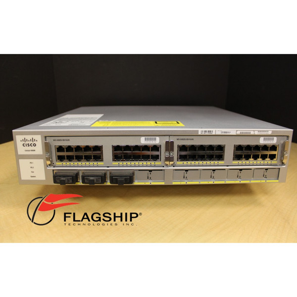Cisco Catalyst WS-C4900M 4900M Layer 3 Switch 1