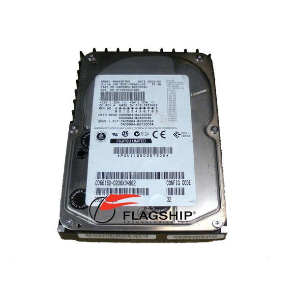 SUN 390-0065 36GB 10K SCSI 80 Pin Hard Drive Disk