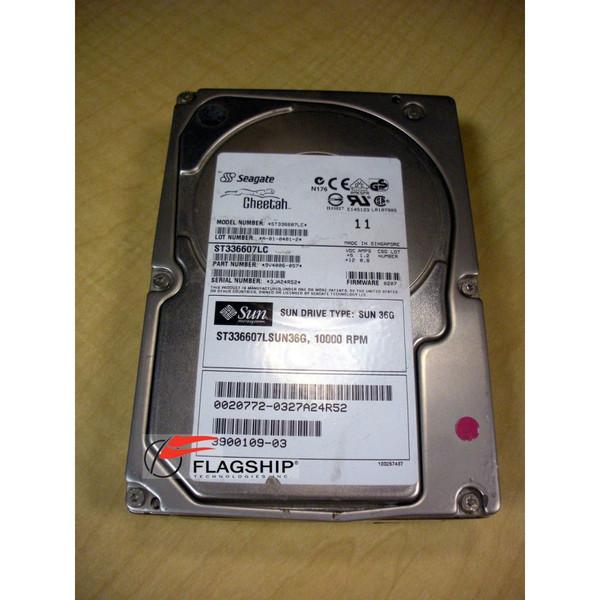 SUN 390-0109 36GB 10K SCSI Disk U320 80PIN