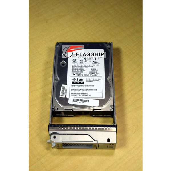 SUN 390-0481 300gb 15k SAS 3.5in Hard Drive Disk