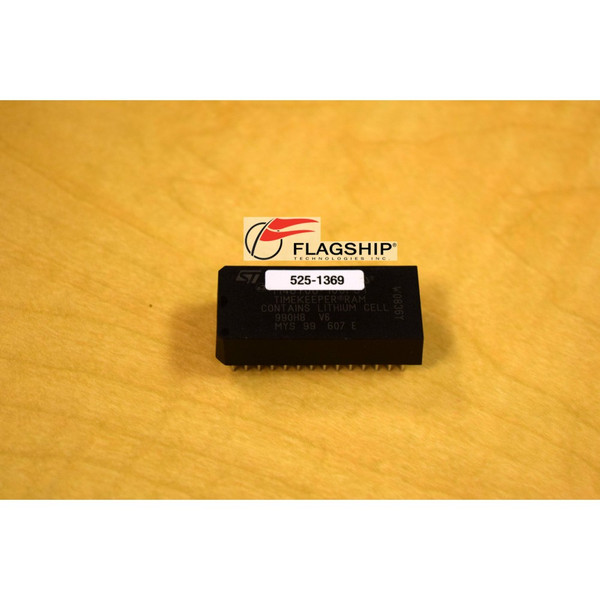 Sun 525-1369 NVRAM IDPROM SPARCstation 5 SS5 ST MicroElectronics Battery NEW via Flagship Tech
