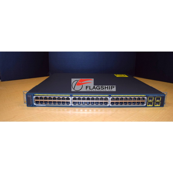 Cisco WS-C2975GS-48PS-L 48-Port 10/100/1000 PoE + 4 SFP Switch