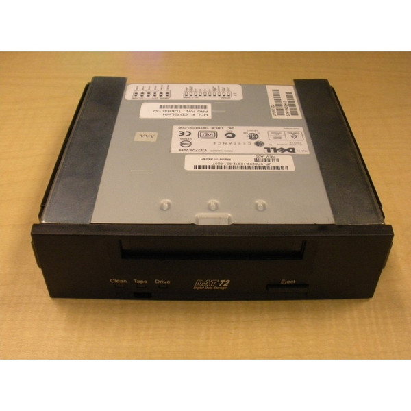 "Dell Quantum DAT72 36/72GB 5.25"" Internal SCSI Tape Drive R3999 CD72LWH"