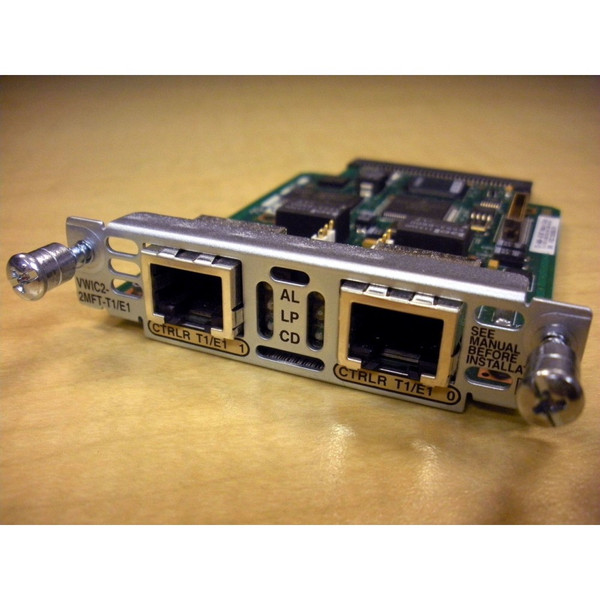 Cisco VWIC2-2MFT-T1/E1 2-Port T1/E1 Multiflex Interface Card via Flagship Tech