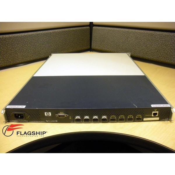 HP A7347A SureStore FC 1Gb / 2Gb 8B 8-Port Switch w/ Air Baffle and Rack Kit
