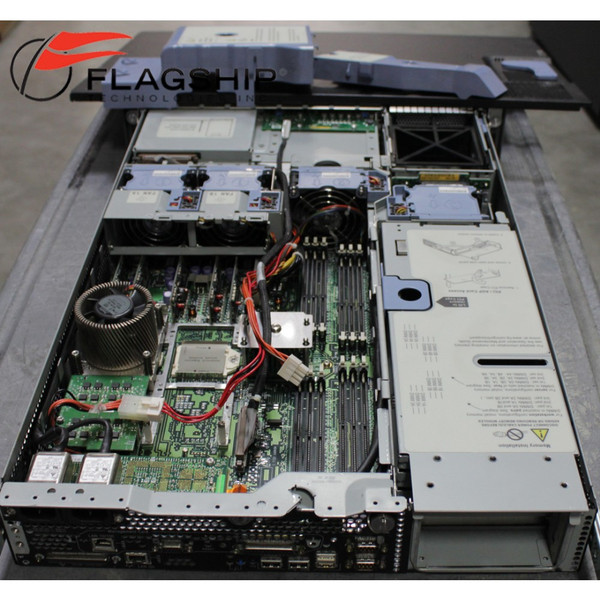 HP A7136B rp3410 Server 1-way 800MHz PA8800 6GB RAM 2x73GB HDD RPS DVD Rack Kit open baffle out