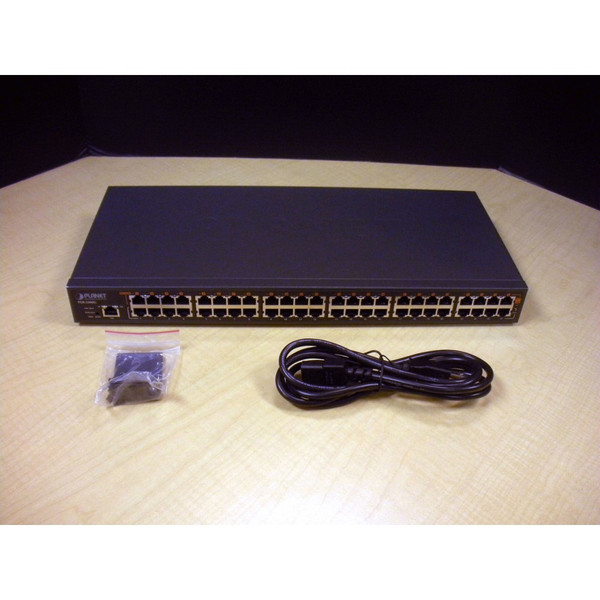 Planet POE-2400G 24-Port 802.3af GB PoE Injector Hub via Flagship Tech