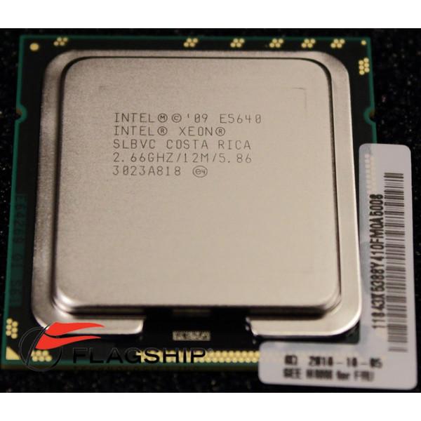 IBM 59Y4008 69Y1517 4602 E5640 4C 2.66GHz/12MB Processor Kit for x3550 M3