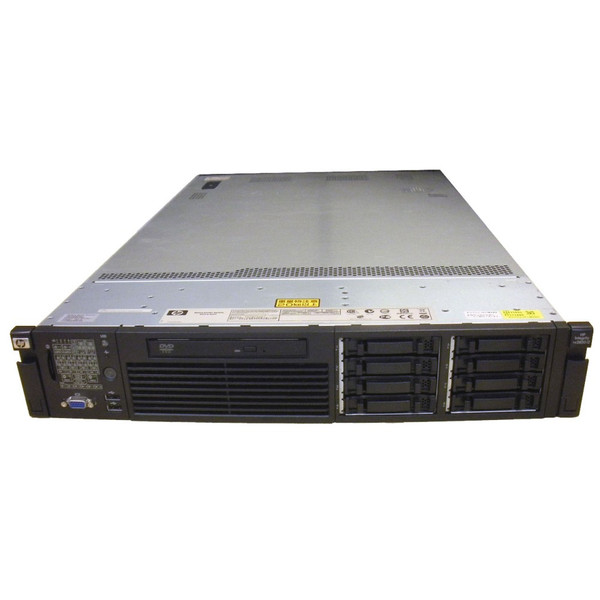 HP AH395A rx2800 i2 Server QC 1.6GHz 9340 24GB 2x 146GB RPS DVD Rack Kit via Flagship Tech