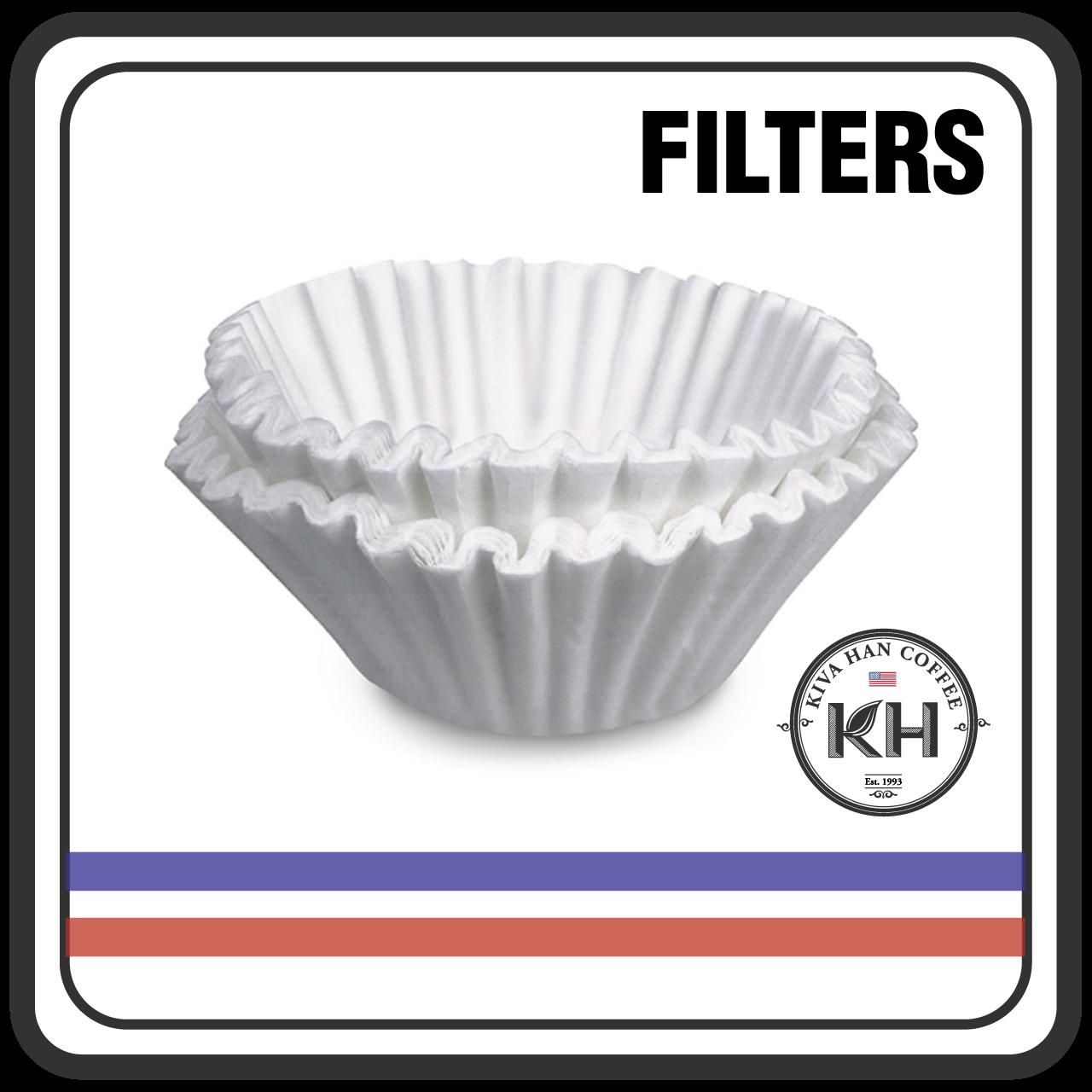 """Bunn 20157.0001 12 1//2/"""" x 4 3//4/"""" Gourmet Coffee Filter 500 Filters"""