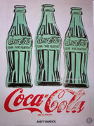 Andy Warhol Coka Cola Three Coke Bottles Print