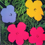 Andy Warhol Fab Official Authorized Warhol Sophisticated Flowers
