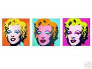 Andy Warhol Ultimate Marilyn Monroe 3 Portrait Suite