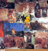 Bold Painterly Robert Rauschenberg Fine Art Print