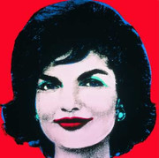 Fabulous Official Authorized Warhol Jackie Kennedy Onassis Oversized Print